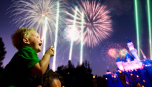 There's nothing as magical for children as starting the year off at Disneyland.