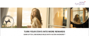 Earn up to 6,000 Flying Club miles with Hilton stays.