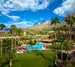 The beautiful Hilton Conquistador grounds.