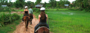 A trail ride lets you immerse yourself in the region away from the crowds.