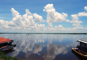 The Tonlé Sap Great Lake.