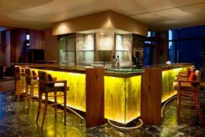 Have a cocktail at the Le Meridien St Julian.