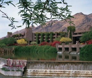 Relax at the luxurious Lowes Ventana Canyon Resort.