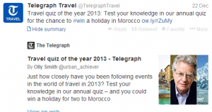 Take this travel quiz and win a trip to Morocco.