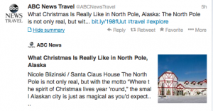 The North Pole really is magical!