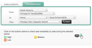 ORD-ICN on Korean Airlines