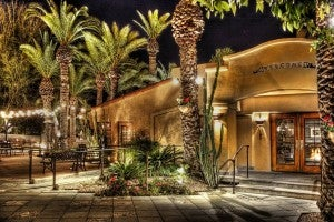 Old Pueblo Grille has a romantic and relaxing patio for outdoor dining.