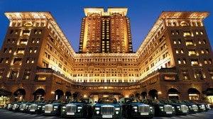 The Peninsula Hotel in Hong Kong.