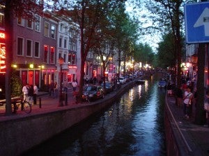 Visit the Red Light District, if you dare.