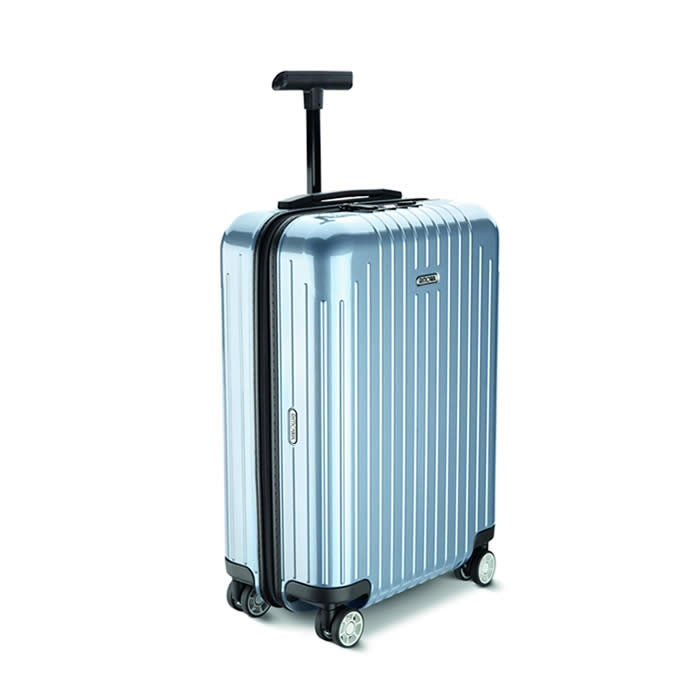 Rimowa Salsa Air 22 inch carry on bag is ultra light weight.
