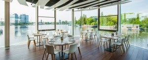 Riva Restaurant has amazing food AND amazing views.