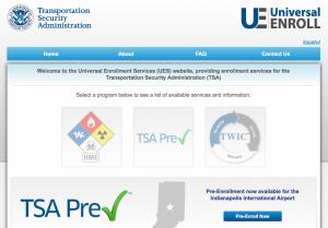 TSA PreCheck application and enrollment is now open.