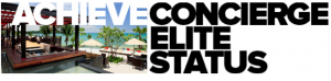 I'm giving away two Concierge status prizes this week.