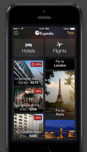 Use the Expedia app to score a $50 rebate.