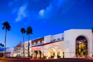 The Sheraton Tucson Hotel & Suites.