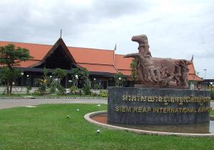 Siem Reap International Airport.