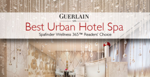Escape the stress of the city and the holiday season with a spa treatment.