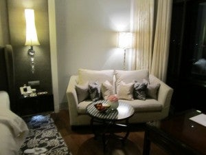 I liked the sofa and coffee table.