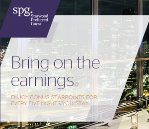 "Registration is open now for Starwood's 2014 ""Bring on the Earnings"" Promotion"
