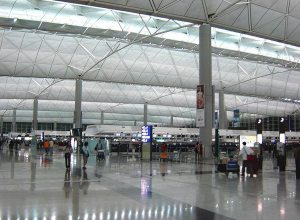 Terminal 1 is third largest airport passenger terminal building in the world.