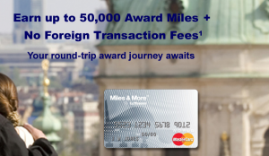 Get your 50,000 bonus award miles!
