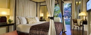 Cabana Suite at Raffles Hotel in Siem Reap.