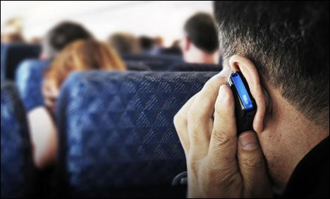Many international airlines do allow voice calls and texting using OnAir and Aeromobile.