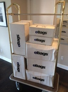 Boxes taking over my apartment!