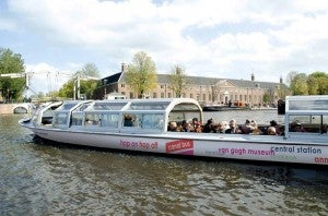 Hop on Hop off Canal Bus charges 22 euros for adult day pass.