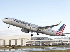American launched A321 service on January 7.