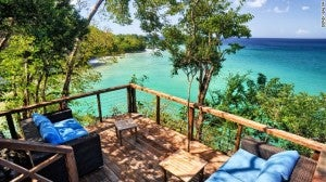 Secret Bay in Dominica.