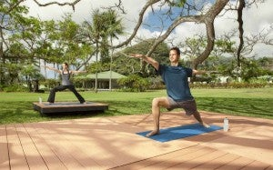Luxury resorts like Travaasa Hana keep you fit in the lap of luxury.