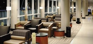 Certain transcontinental flyers get access to American's Admirals Clubs.