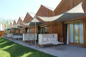 The Aguamiel hotel has just eight suites.