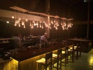 Bar area at Chao Pescao
