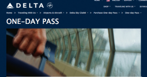 Test out lounge access with a day pass.
