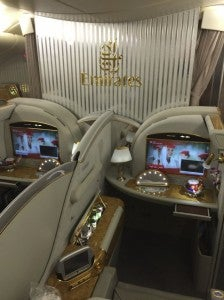 Middle seats.