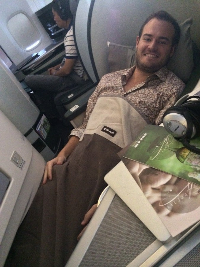 I recently transferred 60,000 Chase points to United to fly EVA Airlines to the Maldives in business class- a $4,000 ticket for $24 in taxes and fees.