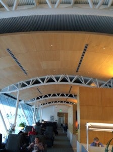 The Flagship lounge at LAX.