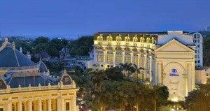 Hotel Exterior with Hanoi Opera House View
