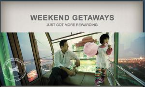 Check out Hilton's Weekend Rewards Promotion.