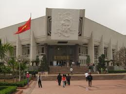 The Ho Chi Minh Museum.