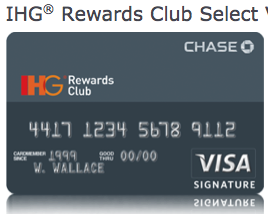 The IHG Visa gives you an automatic free room every year.