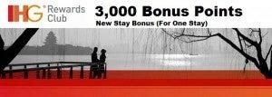 Earn 3000 IHG Reward Points.