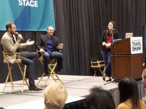 Appearing on the panel with Johnny Jet and Jen Leo.