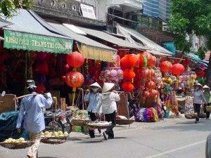 Take a stroll through Hanoi's Old Quarter.