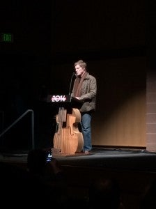Robert Redford during opening night at Sundance.
