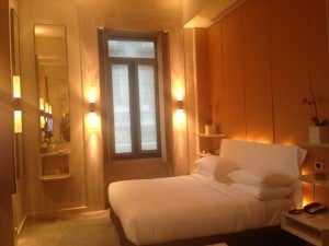 I recently stayed at the Park Hyatt Milan- great value at 22,000 points and still at 30,000- though lock in the cheaper rate if possible