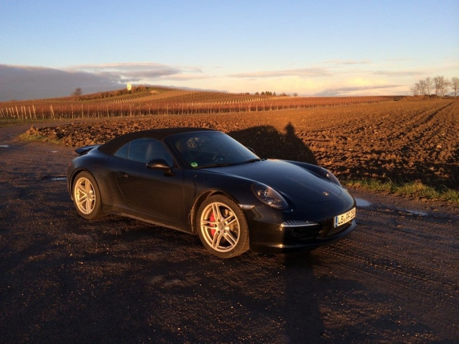 At least we ended up driving through some gorgeous vineyards.