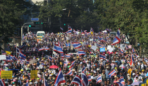 If you are traveling in Bangkok, be aware of ongoing protests and demonstrations.